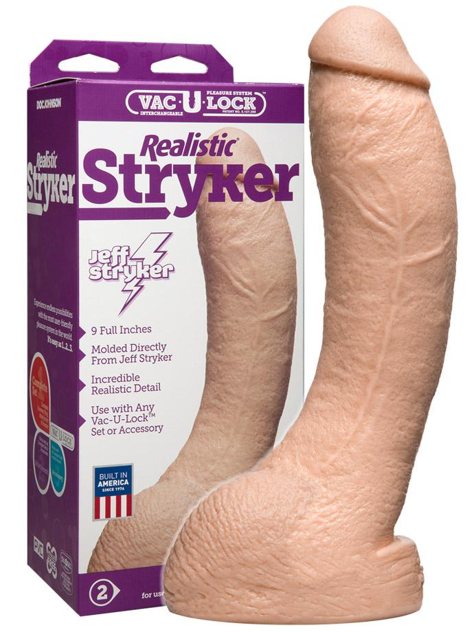Vac-U-Lock - Jeff Stryker Realistic Cock