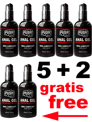 5 + 2 PUSH Anal Gel Premium Edition 250 ml