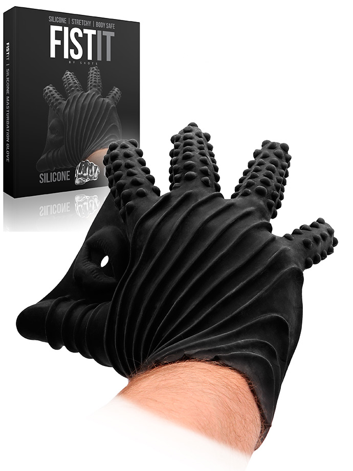 FistIt Masturbation Glove - Black