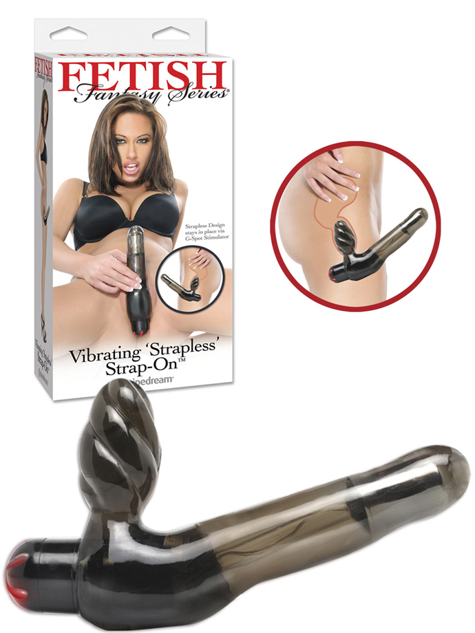 Fetish Fantasy - Vibrating Strapless Strap-On
