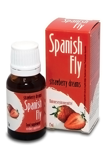Spanish Drops Strawberry Dreams 15 ml