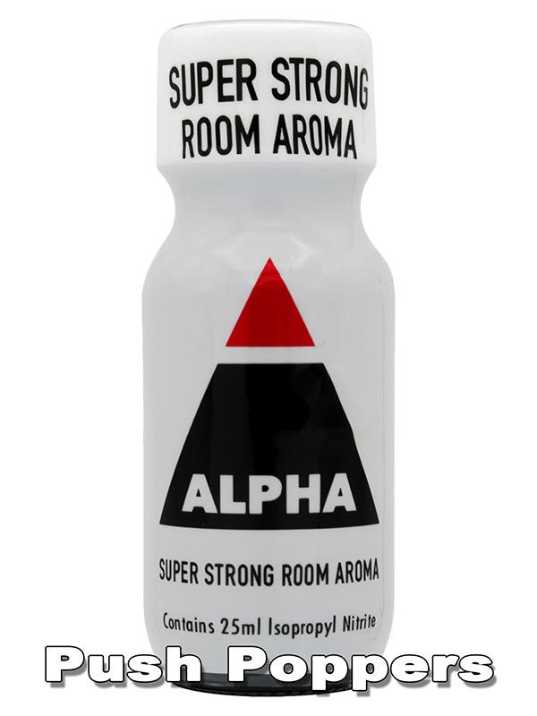 ALPHA SUPER STRONG - Popper - 25 ml
