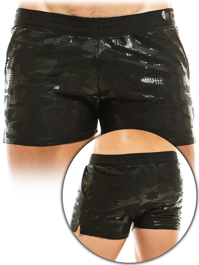 Modus Vivendi - Costume da bagno - Boxer glitterato - Nero