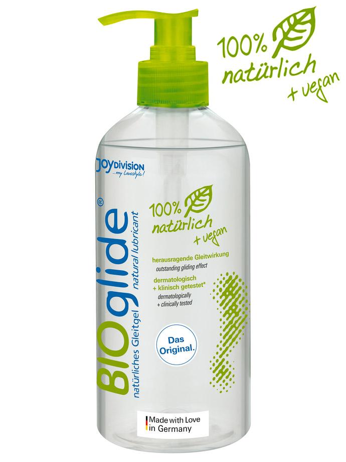 BIOglide - Gel Lubrificante Anale100% Naturale e Vegano -500 ml