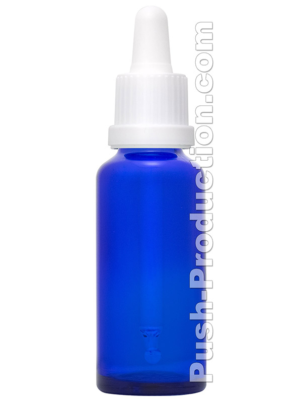 Mix Bottle Blue with red tip
