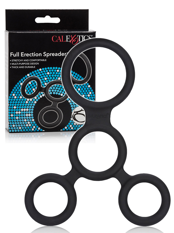 Calexotics - Full Erection Spreader Cockring in Silicone