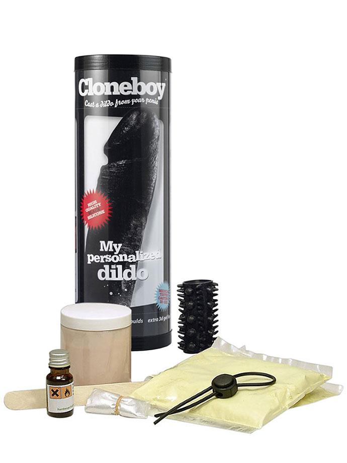 Cloneboy - Dildo Personalizzato Nero