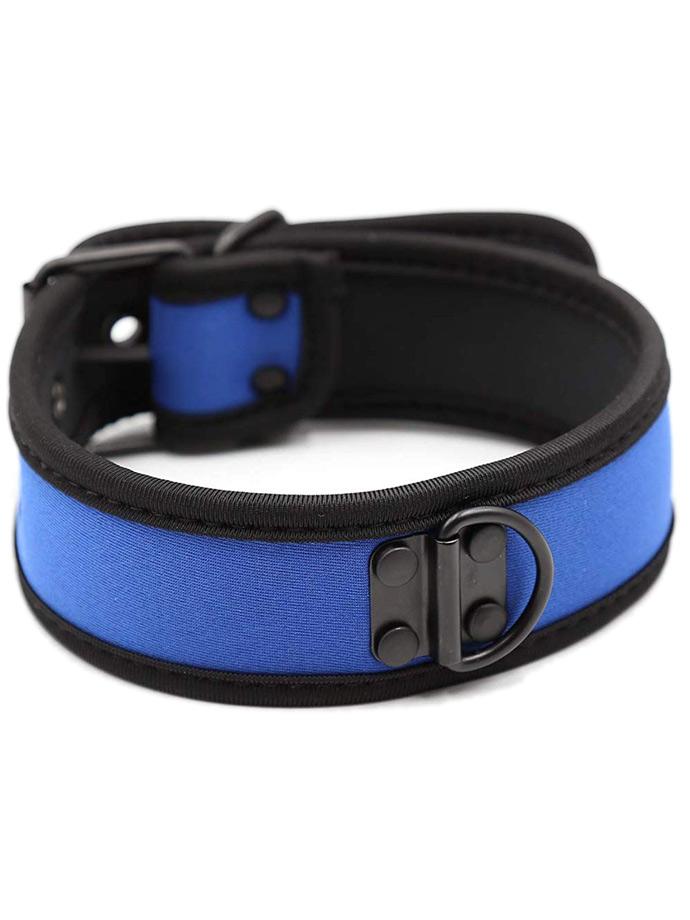 Pupplay - Collare in Neoprene Collar - Blu