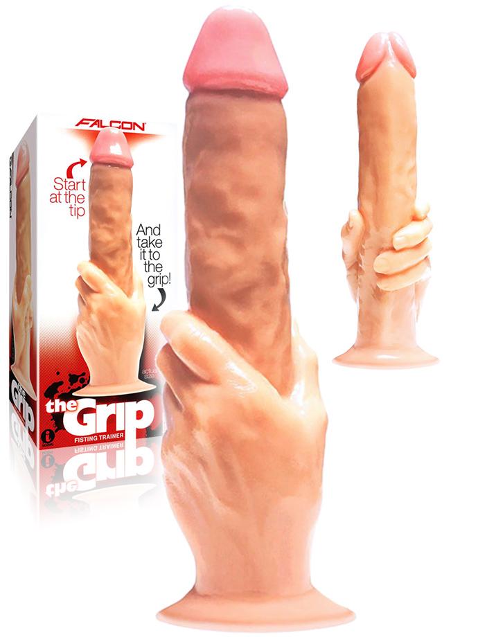 Iconbrands - The Grip Cock-In-Hand - Dildo con mano
