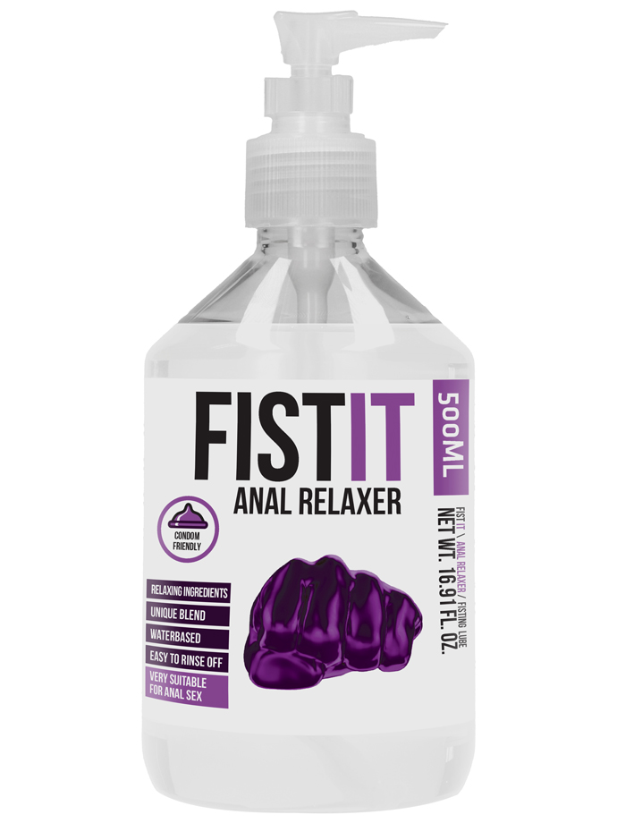 FistIt Anal Relaxer Lubricant 500 ml - Pump