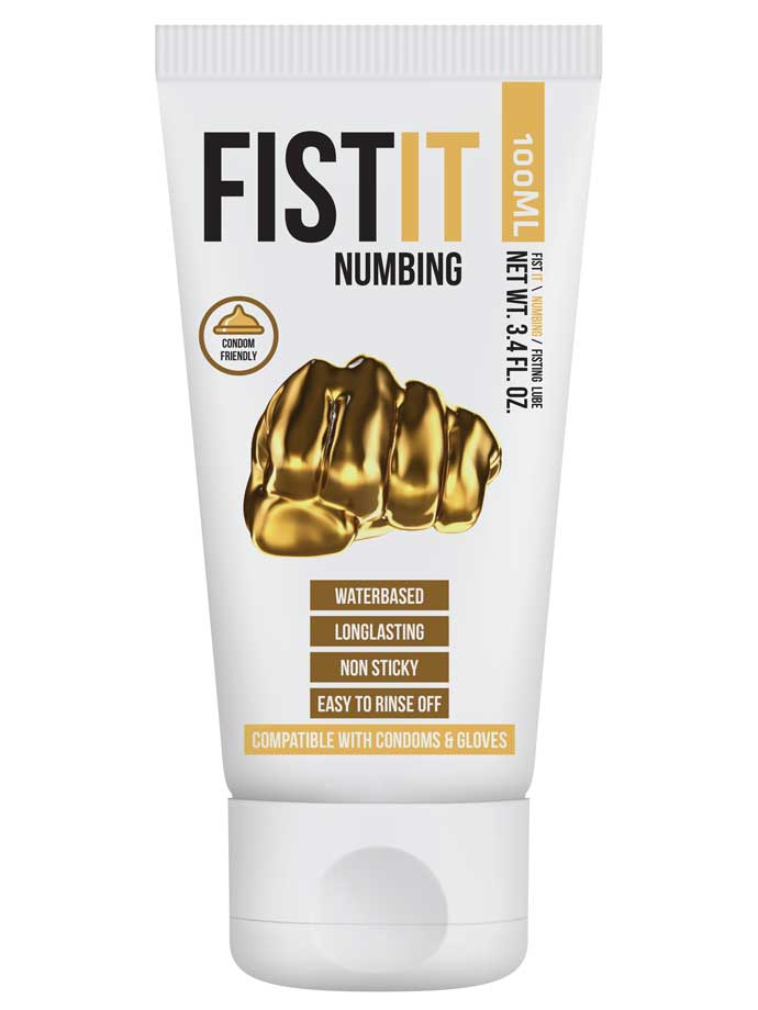 FistIt Numbing Water Based Lubricant 100 ml