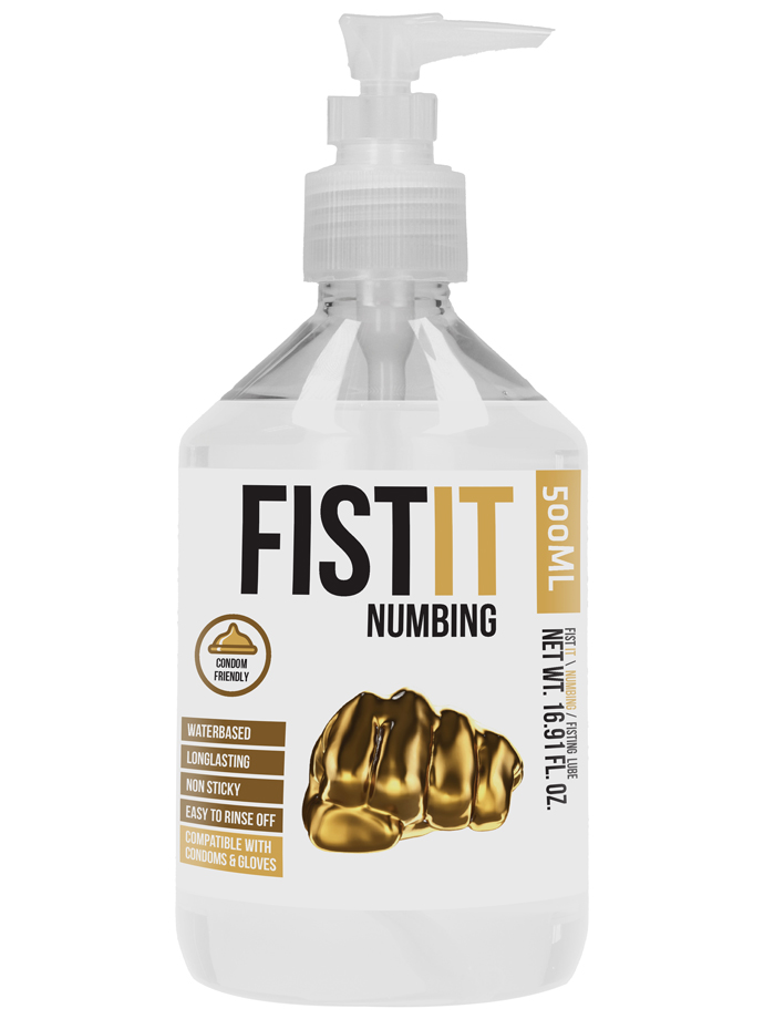 FistIt Numbing Water Based Lubricant 500 ml - Pump
