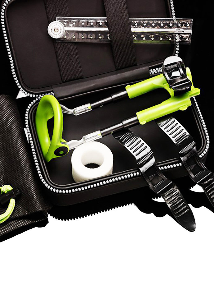 Male Edge Penis Enlarger Extra Kit - Green/Black