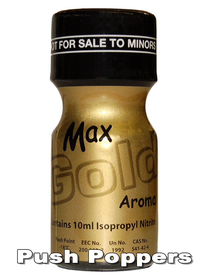 MAX GOLD - Popper - 10 ml