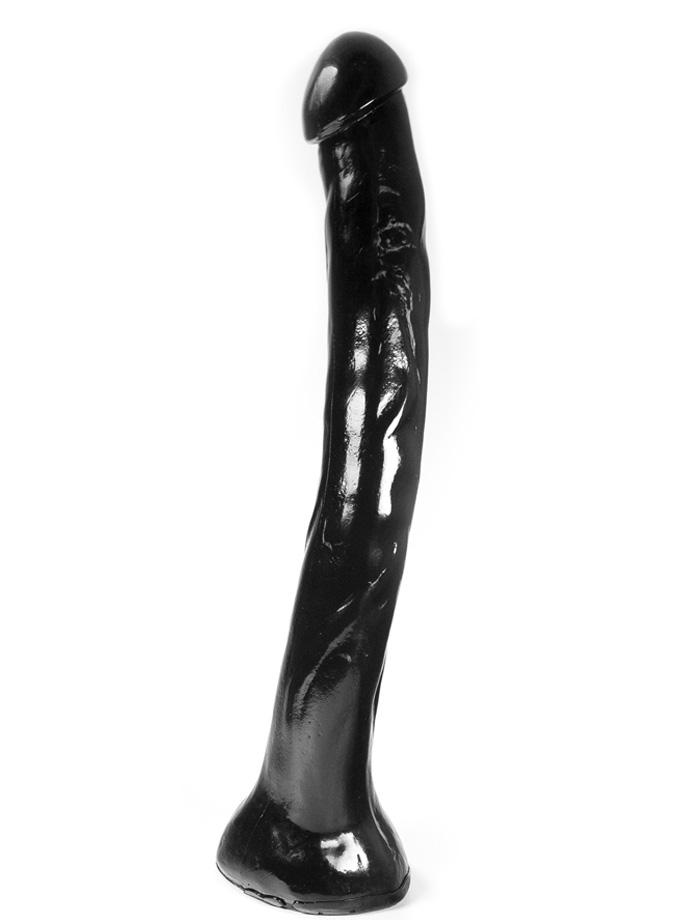 Dark Crystal Black X-Large Dildo DC36
