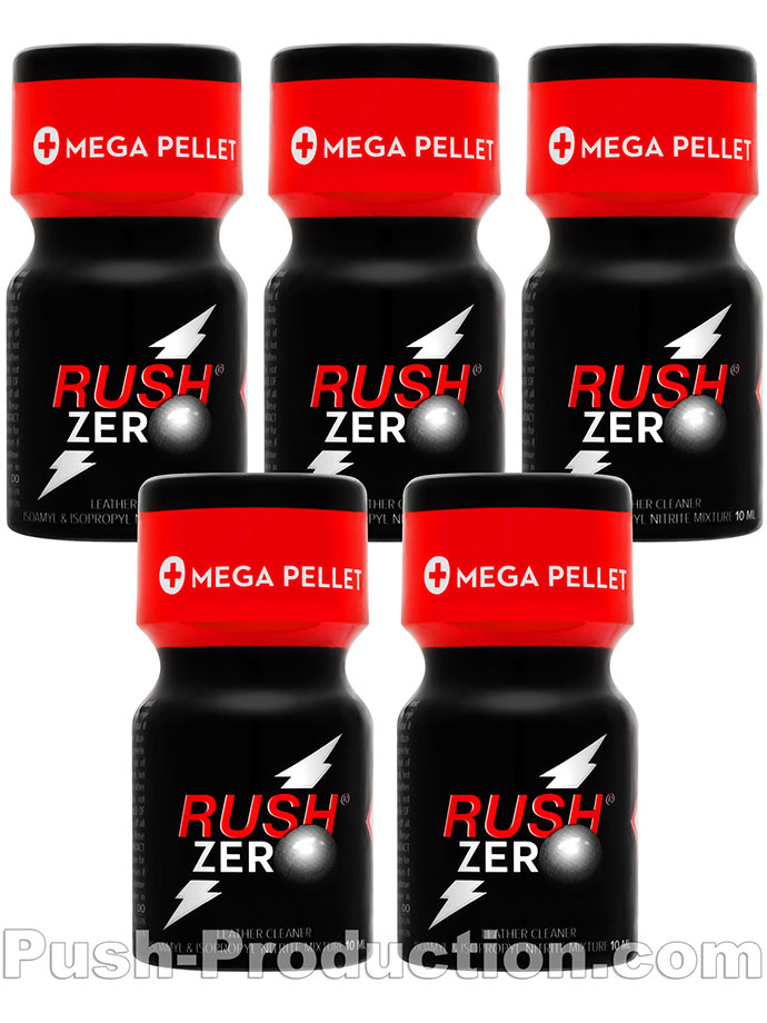 5 x RUSH ZERO small - PACK