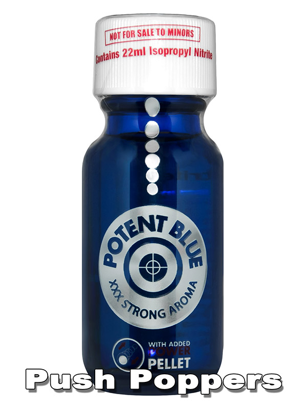 POTENT BLUE - Popper - 22 ml
