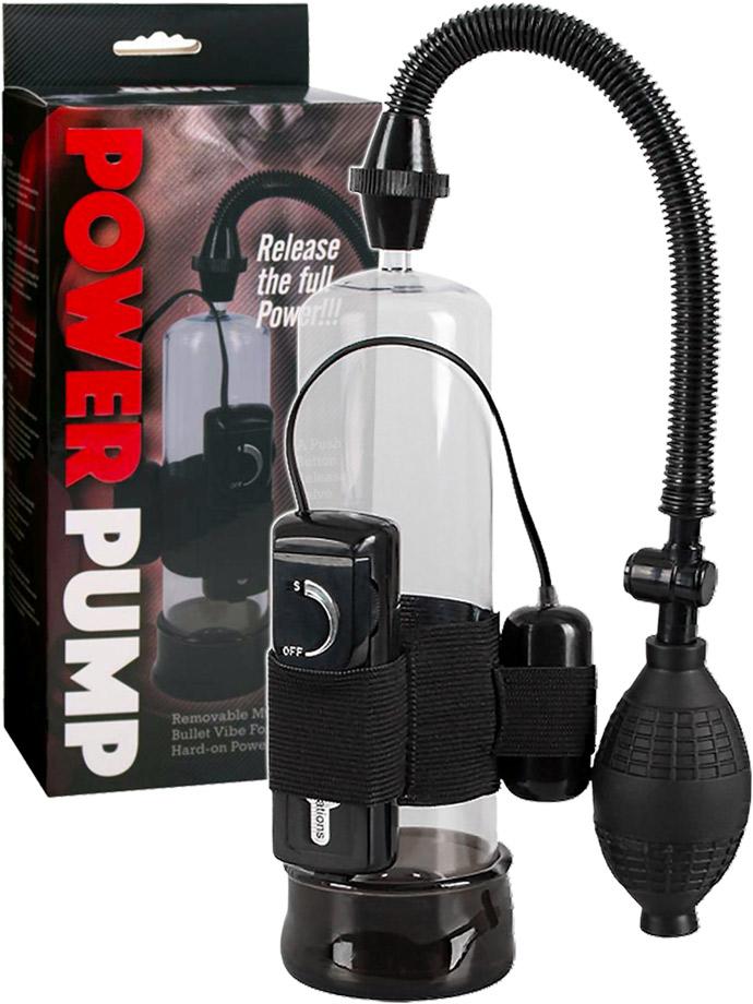 Power Pump con vibratore