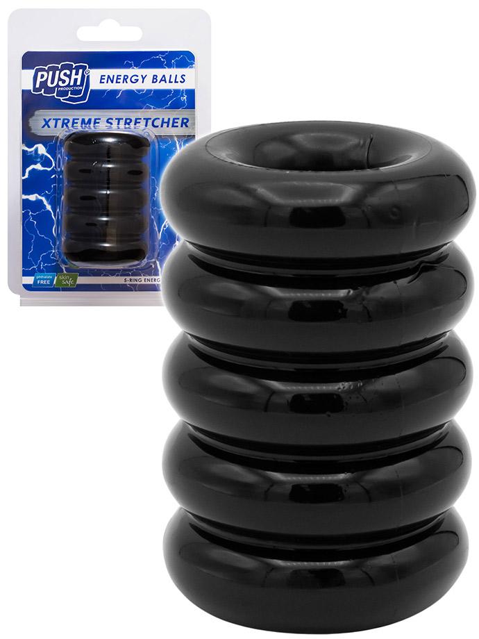 PUSH Energy Balls - Xtreme Stretcher - Cockring