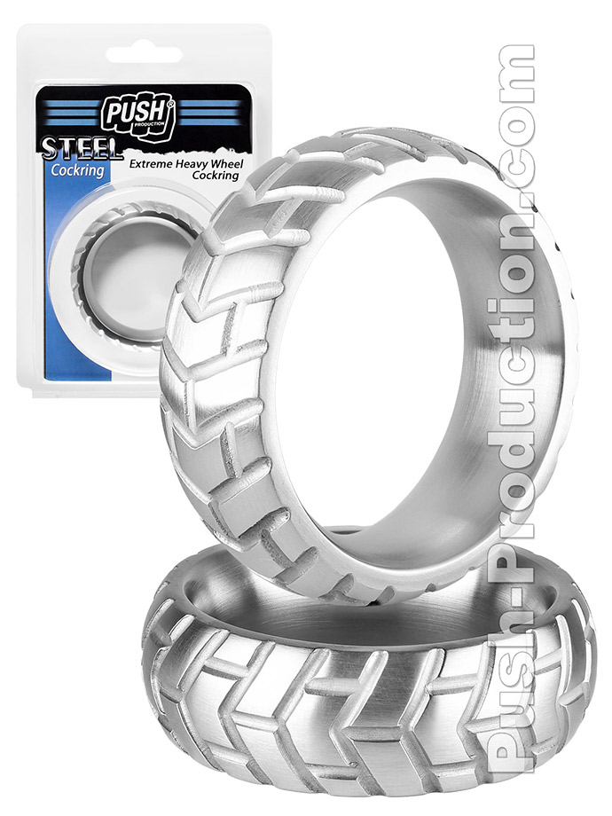 Push Steel - Extreme Heavy Wheel Cockring