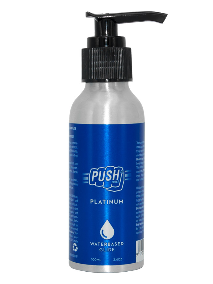 Push Lubes - Platinum Waterbased/A base d'acqua Glide 100ml