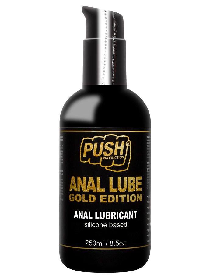 Silicone anal lube