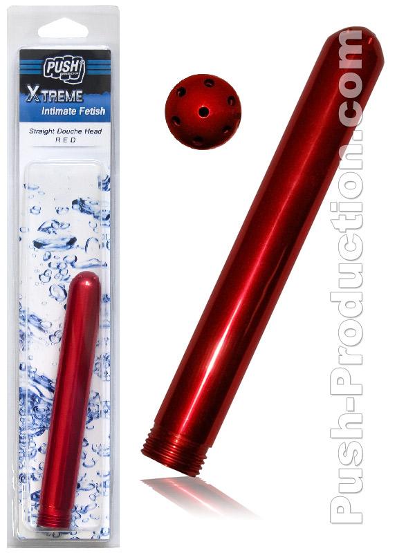 Push Xtreme - Doccia intima dritta - rosso