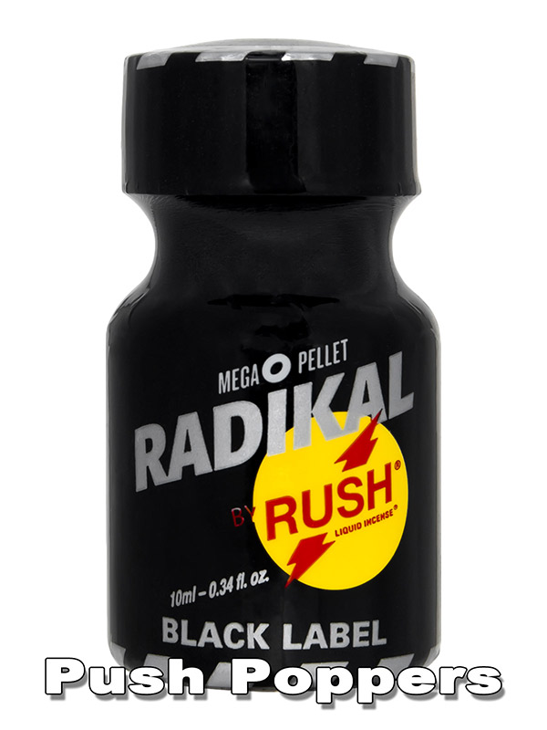 RADIKAL RUSH BLACK LABEL - Popper - 10 ml