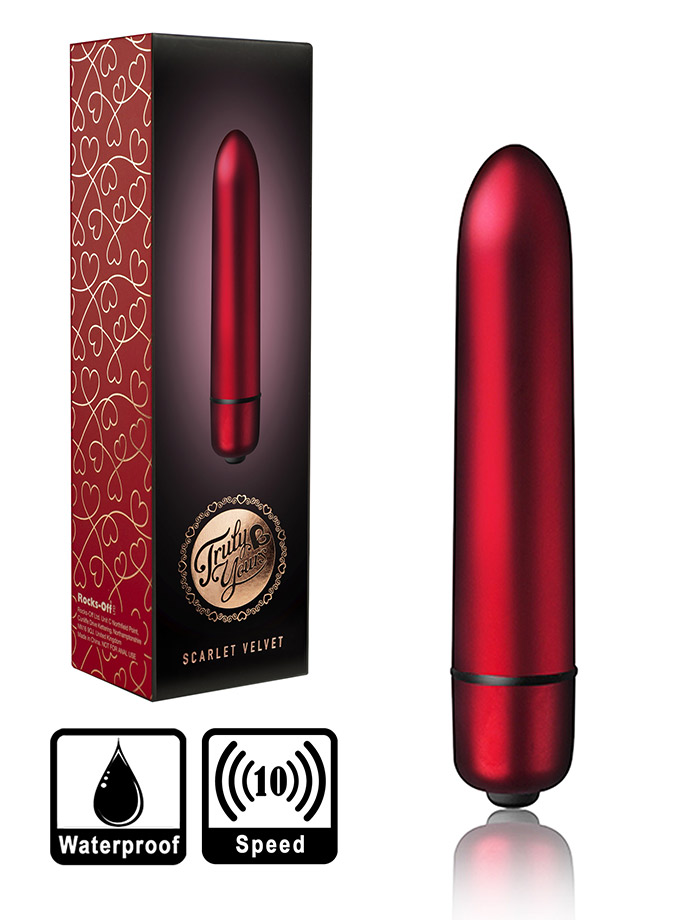 Rocks Off - 10 Speed RO-90mm Bullet Vibratore - Scarlet Velvet