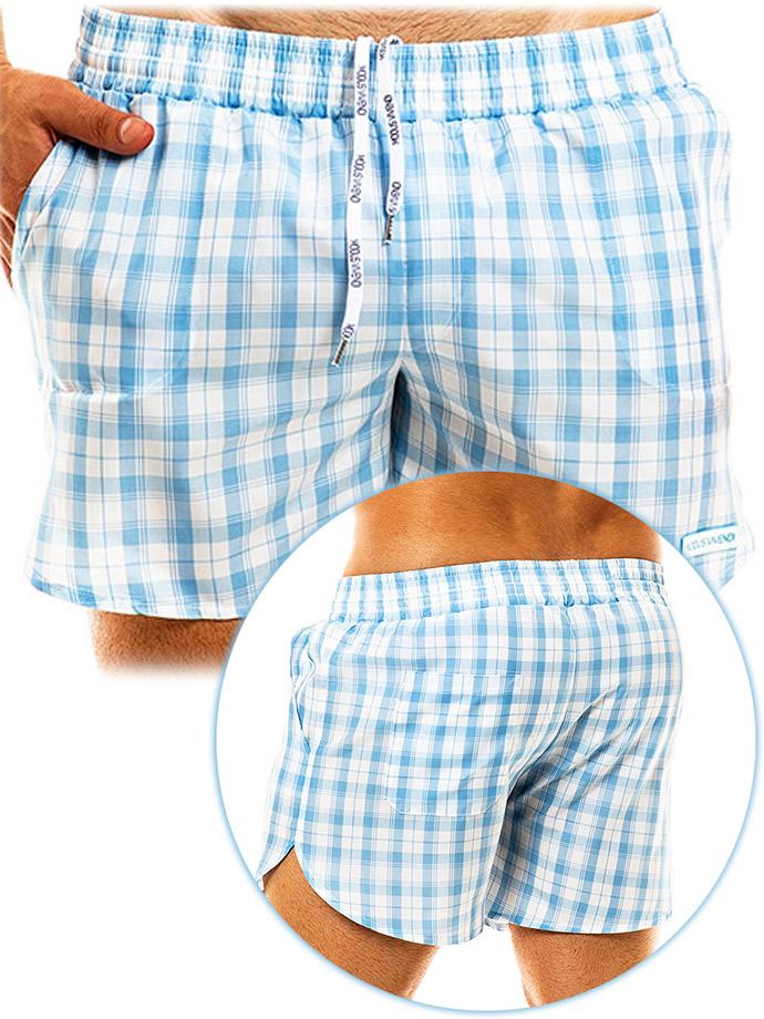 Modus Vivendi - Costume da Bagno/Short Capsule - Azzurro