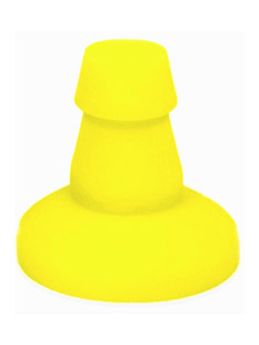 Keep Burning Suction Cup Yellow
