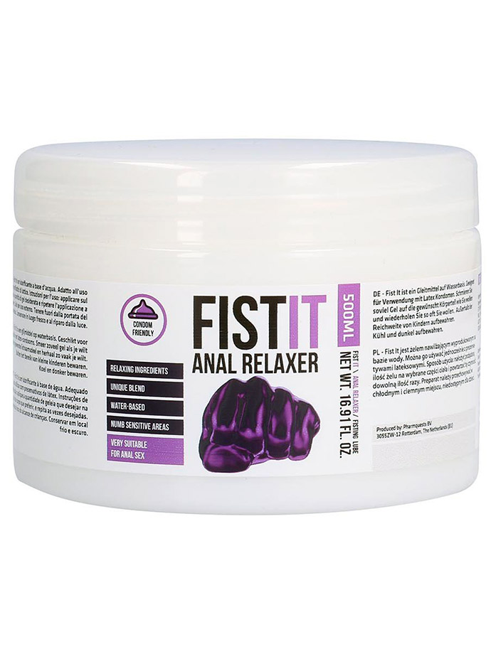 FistIt Anal Relaxer 500 ml Lube