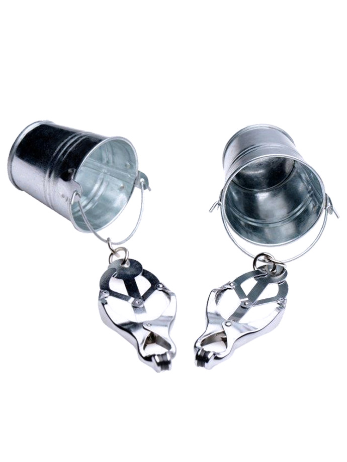 Steel Nipple Clamps with Buckets