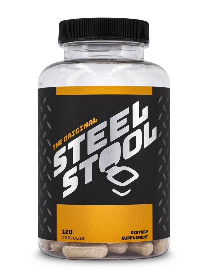Steel Stool - 120 caps
