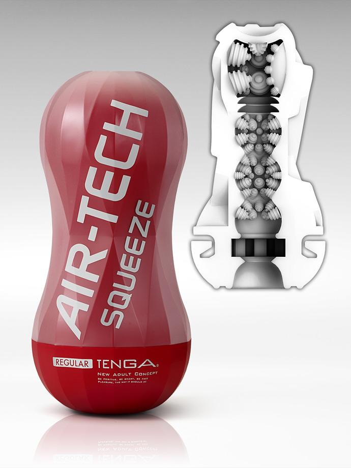 Tenga - Air-Tech Squeeze Reusable Vacuum Cup - Regular