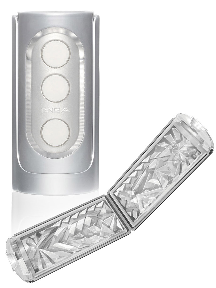 Tenga - Flip Hole Masturbator - argento