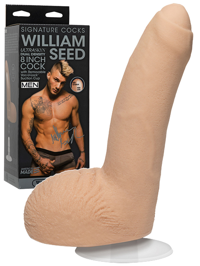 Signature Cocks - William Seed 8 inch Cock