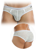 Modus Vivendi - Lacenet Super Low Cut Brief - White