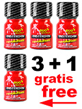 3 + 1 AMSTERDAM REVOLUTION - Popper - 4 x 10 ml