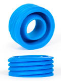 Burning Wheels 100% Silicone Cockring CK12 blu