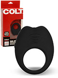 COLT - Vibrating Silicone Cockring - rechargeable