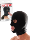Fetish Fantasy - Spandex 3 Hole Hood nero