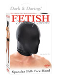 Fetish Fantasy - Spandex Full Face Hood nero
