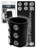 Push Xtreme Leather - Memphis Snap Strap Ballstretcher X-Large