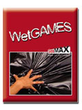 Lenzuolo Wet Games - 180x220 cm, rosso